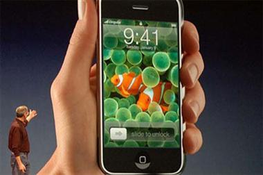 Iphone presentato da Steve Jobs