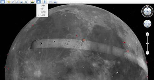 google-earth-moon