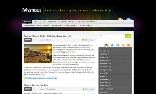 Template Wordpress 3 da scaricare gratis