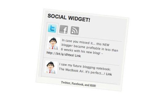 social-widget