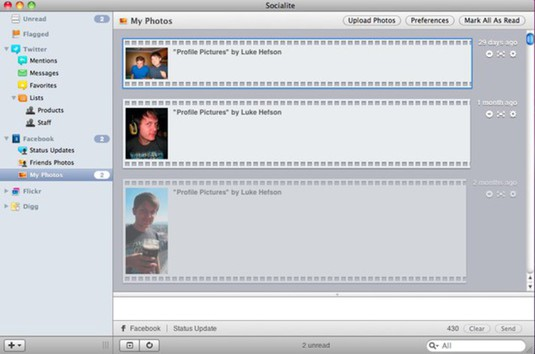 Facebook pics