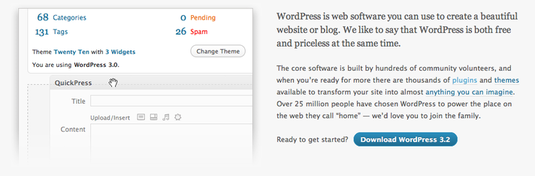 wordpress 3.2