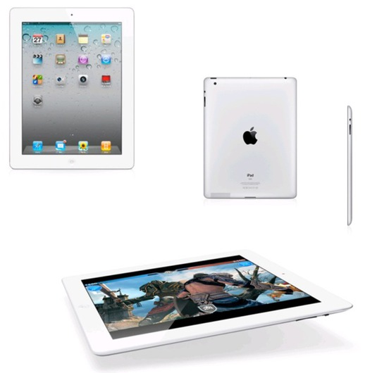 Apple ipad 2 64gb wifi white