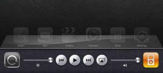 Nuovo bar multitasking in ios ipad gm 1