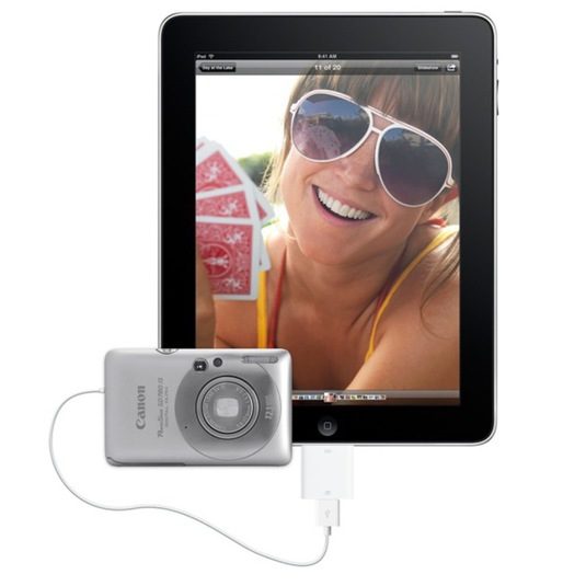 iPadCamera Connection Kit