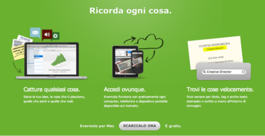Ricorda ogni cosa   Evernote Corporation