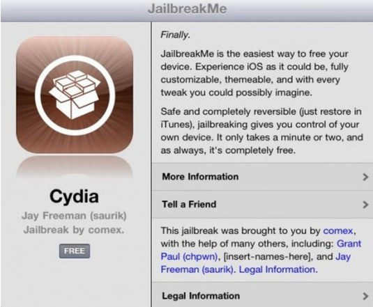 Jailbreak ipad2