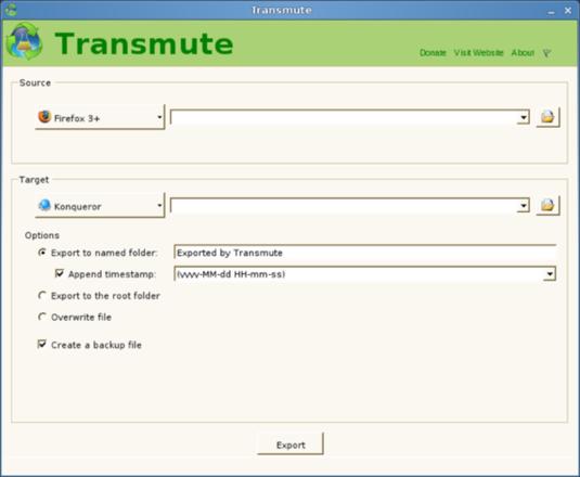 Transmute mono 001