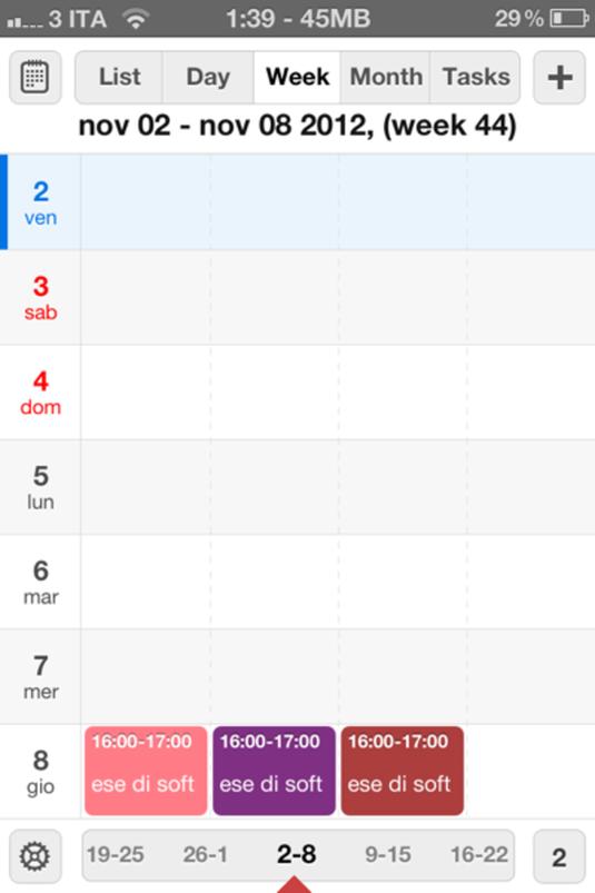 Calendars 116
