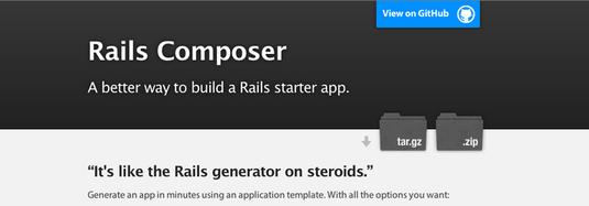 iniziare un progetto con rails