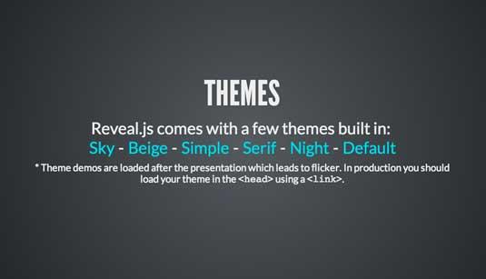 presentazioni html online