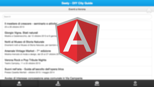 Phonegap, angularjs e Boostrap3