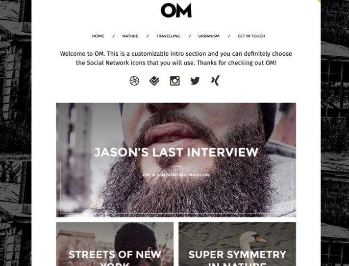 medium-style-om-wordpress-theme