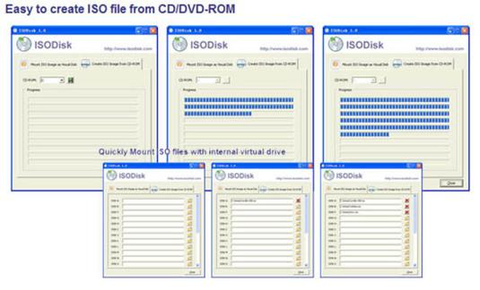 Masterizzare e montare immagini ISO