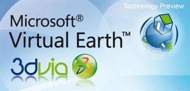 virtual earth 3dvia