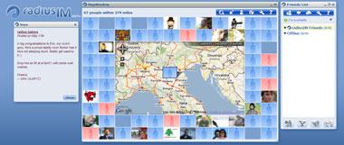 La chat con Google Maps