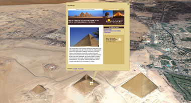 L'egitto su Google Earth