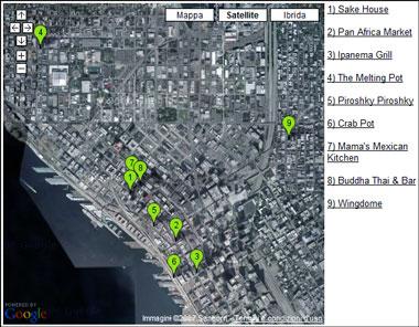 Google Maps e Google Spreadsheet insieme per creare nuovi mashup