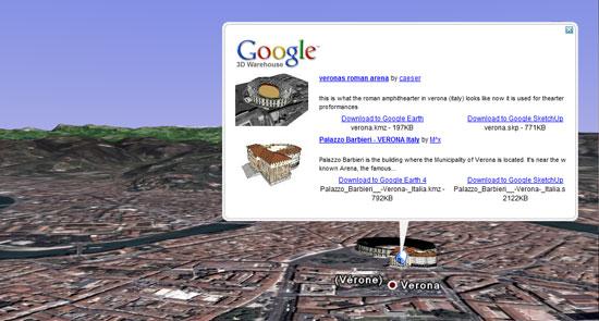 Informazioni prima di vedere l'edificio 3D