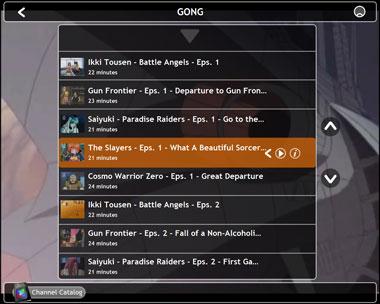 Lista canali tematici