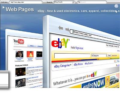 browser 3d per un nuovo tipo di navigazione