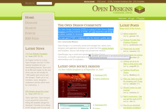 Open Design Community
