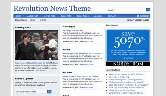 Revolution News Theme