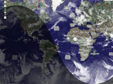 Meteo con google maps