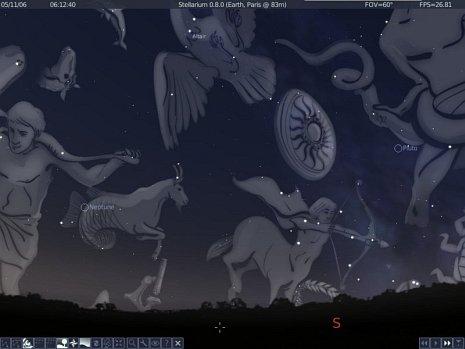 Stellarium, le stelle a portata di click