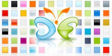 Stili gratis da installare sul proprio photoshop per ottenere effetti web 2.0