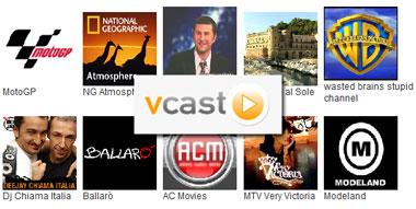 vcast, videoregistratore online