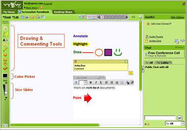 vyew, suite per la collaborazione online