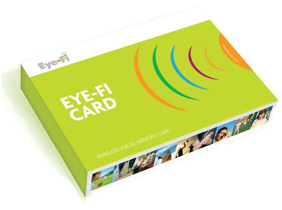 wireless memory card - eye-fi