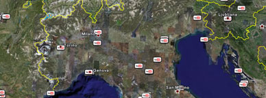 Google earth aggiunge i video di YouTube