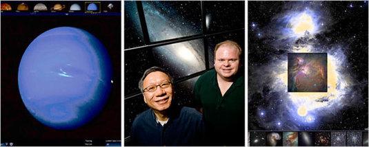 world wide telescope di microsoft