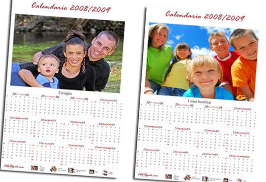 Calendario 2009 da scaricare ecco il meglio della rete dynamick - Calendario da tavolo con foto proprie ...