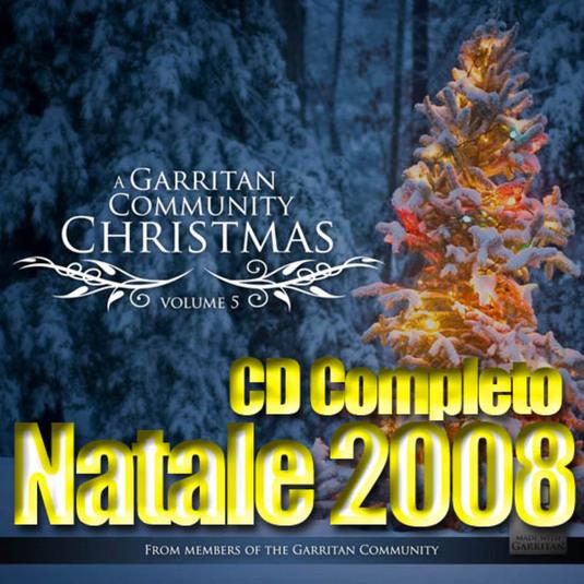 Un cd completo con le canzoni di natale 2008