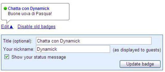 chat con google talk