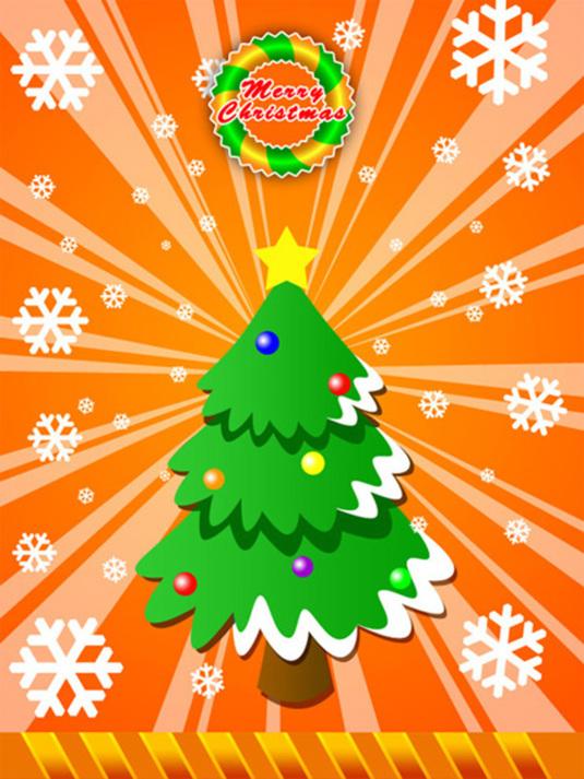 Merry Christmas Greeting Photoshop Tutorial