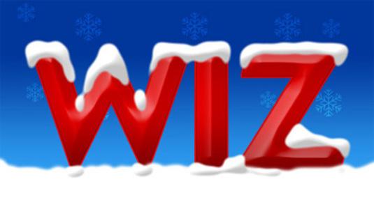 Snow Text Photoshop Tutorial