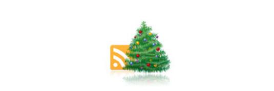 Christmas RSS Icon Photoshop Tutorial