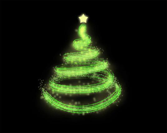 Christmas Tree Photoshop Tutorial