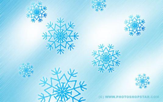 Snowflakes Photoshop Tutorial