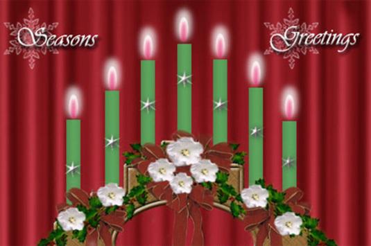 Christmas Candle Bridge Photoshop Tutorial