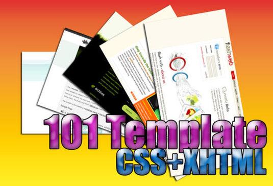 template css xhtml gratis