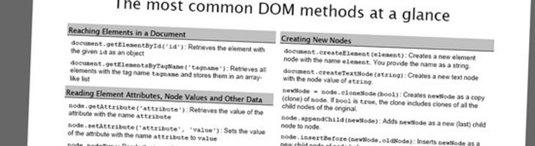 accesso al DOM in javascript