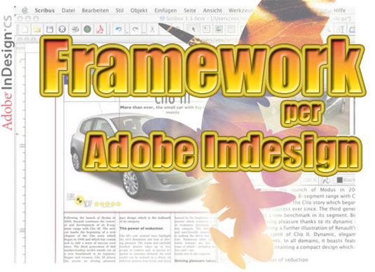 un framework per indesign