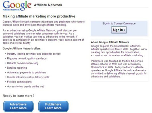 how to become a google affiliate