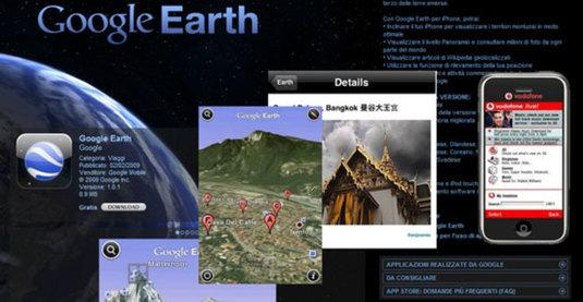 Google Earth per iPhone