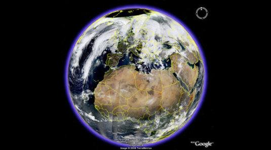 Google Earth in tempo reale